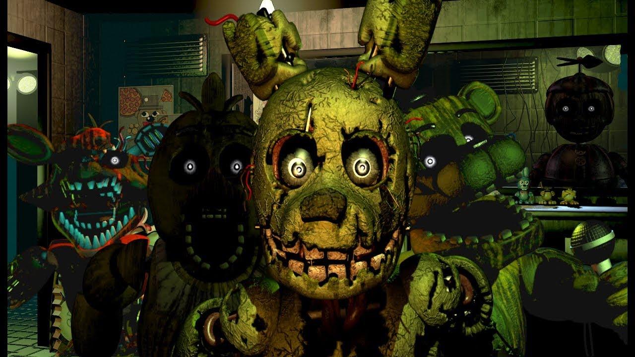 скриншот из ФНАФ 3
